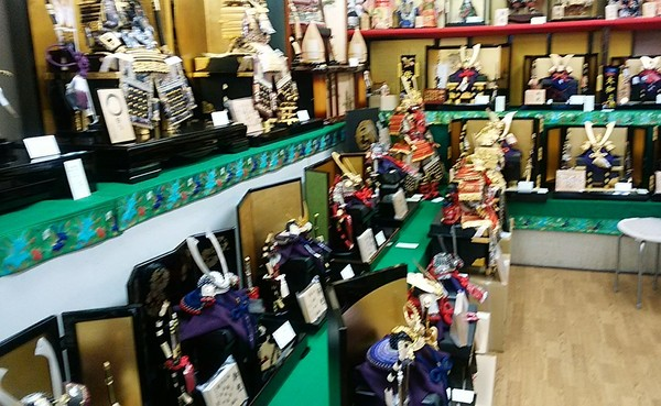早期 五月人形販売会開催🍀3月17日まで