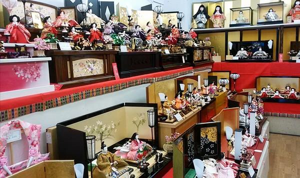 初春🌸特別ひな人形販売会🎎開催中 1月15日まで