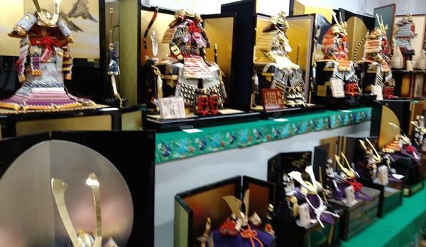🎏✨五月人形販売会開催🍀本日より4月15日まで